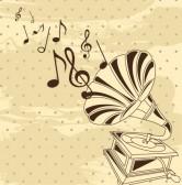 14322055-gramofono-con-notas-musicales-sobre-fondo-vintage